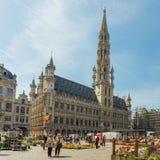 Place grande à Bruxelles, Belgique photo libre de droits