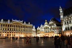 Place grande Bruxelles images libres de droits