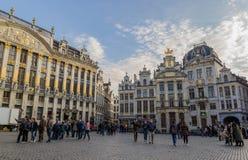 Place grande de Bruxelles Photo libre de droits