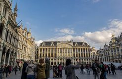 Place grande de Bruxelles Photos libres de droits