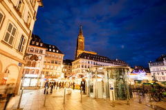 Place Gutenberg Christmas MArket Stock Images