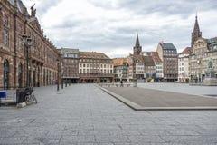 Place Kléber, Strasbourg, France stock photo