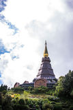 Place leisure travel in an Inthanon mountain Royalty Free Stock Images
