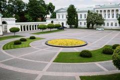 Place lithuanienne de palais présidentiel Photo stock