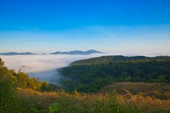 NamPrao valley,Phrae,Thailand Stock Photo