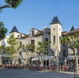 Place Louis XIV in Saint Jean de Luz. Royalty Free Stock Photography