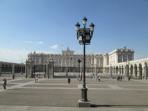 Place in Madrid. Place, Palace, architecture, history Stock Photo