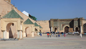 Place Mahdim in Meknes, Morocco Royalty Free Stock Photos