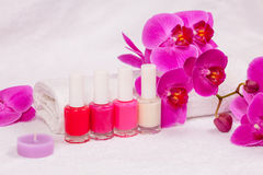 Place for manicure Stock Images