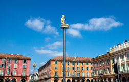 Place Massena with new lamps Royalty Free Stock Image