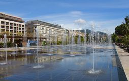Place Massena,Nice Stock Photo