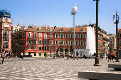 The Place Massena in Nice, France Stock Photography