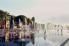 Place Massena in Nice, France Stock Image