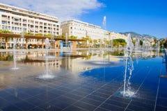 Place Massena in Nice Stock Photos