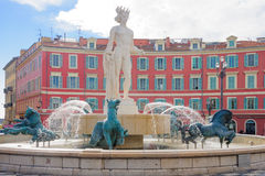 Place Massena in Nice royalty free stock photo