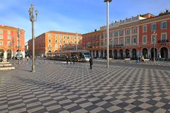 Place Massena Nice Royalty Free Stock Photos