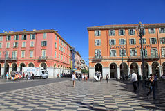 Place Massena in Nice, France Royalty Free Stock Photos