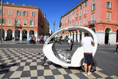 Place Massena in Nice, France. Royalty Free Stock Images
