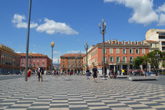 Place Massena in Nice stock images