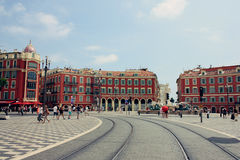 Place Massena in Nice, France Royalty Free Stock Photo