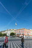 Place Massena Nice Stock Photo