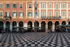 Place Massena Nizza Stock Images