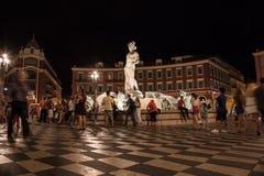 Place Massena Nizza Stock Images