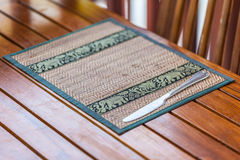 Place mat Royalty Free Stock Photography