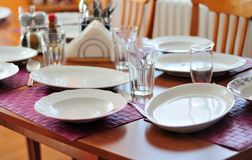 Place mats Royalty Free Stock Photography