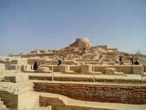 A Place of Mohenjo daro. A Old Place of mohenjo daro. Mohenjo-daro is an archeological site in the province of Sindh, Pakistan. Built around 2600 BCE, it was one Royalty Free Stock Photography