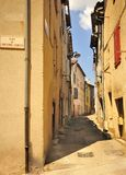 Place of old comedy, Millau, France Royalty Free Stock Photo