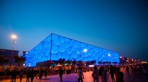 Place olympique de Pékin Images libres de droits