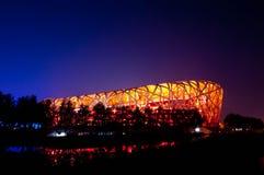 Place olympique de Pékin Images stock