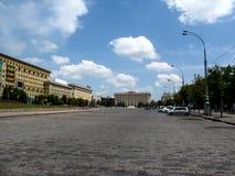 Place ou Ploshcha Svobody de liberté sa place centrale de ville de Kharkiv Image libre de droits