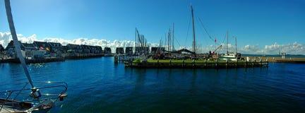 Place of peace, Marine of Marken, Netherlands. Stock Photo