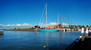 Place of peace, Marine of Marken, Netherlands. Royalty Free Stock Photo
