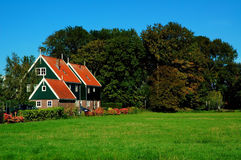 Place of peace, Marken, Netherlands. For some time during the later 19th and early 20th centuries, Marken and its inhabitants were the focus of considerable Stock Photography