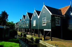 Place of peace, Marken, Netherlands. Royalty Free Stock Images