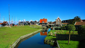 Place of peace, Marken, Netherlands. Stock Photography