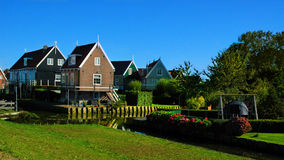 Place of peace, Marken, Netherlands. For some time during the later 19th and early 20th centuries, Marken and its inhabitants were the focus of considerable Stock Images