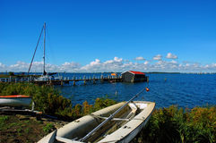 Place of peace, Marken, Netherlands. Royalty Free Stock Photography