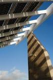 Place photovoltaïque de forum image libre de droits