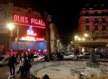 Place Pigalle Paris Stock Photos