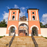 Place of pilgrimage in Jaromerice u Jevicka Stock Photo