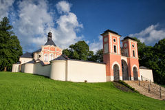Place of pilgrimage in Jaromerice u Jevicka Royalty Free Stock Image
