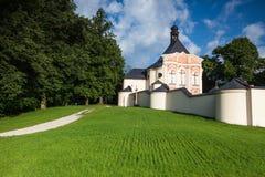 Place of pilgrimage in Jaromerice u Jevicka Royalty Free Stock Photography