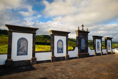Place of pilgrimage on Sao Miguel, Azores Royalty Free Stock Photos