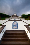 Place of pilgrimage on Sao Miguel, Azores Royalty Free Stock Images