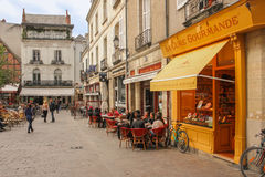 Place Plumereau. Tours. France Stock Photography