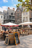 Place Plumereau. Tours. France Stock Images